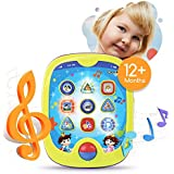 "Smart Pad for Babies and Children Learning by Boxiki Kids. Educational Toy for Infants with Kids' Learning Games. Learn Numbers, ABC Learning, ""Can You Find?"" Game, Music, Light Up Whack-a-Mole Game"