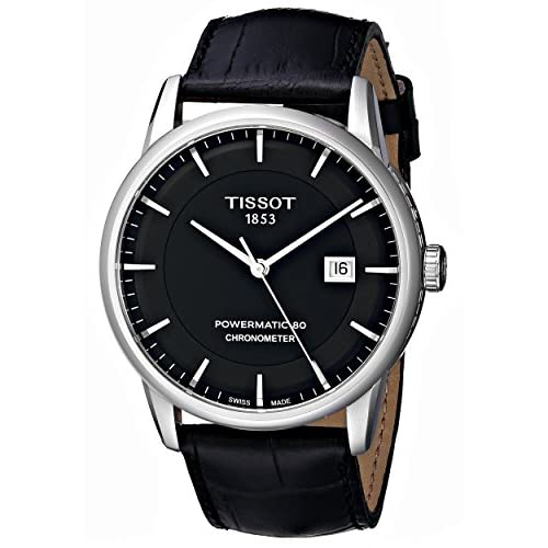 [ティソ]TISSOT 腕時計 Luxury Automatic(ラグジュアリーオートマチック) COSC クロノメーター認定モデル T0864081605100 メンズ 【正規輸入品】