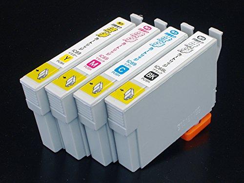 エプソン IC69専用 プリンター目詰まり洗浄カートリッジ 4色用セット...