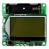 トランジスタテスター,SODIAL(R) M328多機能充電式トランジスタテスターダイオードコンデンサ感度センサー ESR LCRメータ USBインターフェース 緑