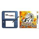 Newニンテンドー3DS LL メタリックブルー + ポケットモンスター サン - 3DS 【Amazon.co.jp限定】オリジナルPC壁紙(リーリエ) 配信 セット