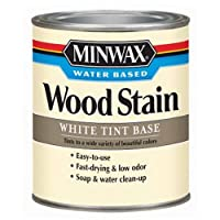 Minwax 61806 1 Quart Water-Based Wood Stains, White Oak , Tint Base by Minwax