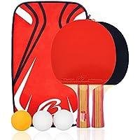 卓球 ラケット ラケット2本 ピンポン球3個 卓球ネット 収納袋付き ボール 手軽 卓球用品 子供用 新入生応援セット 初心者向け
