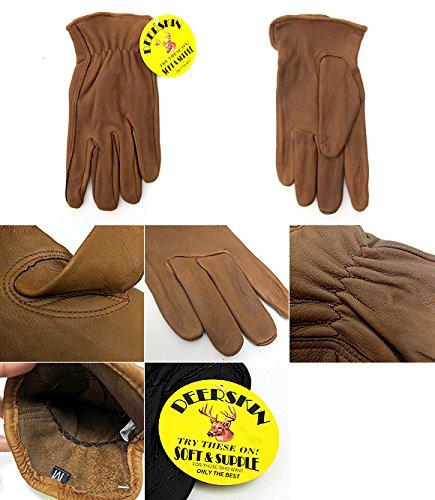 ナパグローブ ディアスキン レザー グローブ 手袋(裏地なし) S GOLD[裏地なし] [並行輸入品]