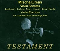 Complete Decca Recordings 2: Sonatas & Encores by VARIOUS ARTISTS (2004-05-11)