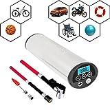 KUFUNG 携帯型 電動空気入れ 充電式エアーポンプ インフレータ 自転車 車 モーターバイク ボール 風船など