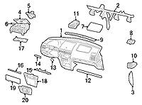 フォード・5F9z-7406162-aad–ラッチASY–Stowage