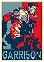 ポスターBattle Chaser「Propaganda」Garrison–a3( 42x 30cm )