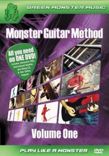 Monster Guitar Method, Vol 1: Play Like a Monster (DVD & CD) by Alfred Publishing Staff
