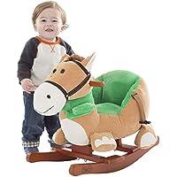 Baby Pony Plush Rocking Animal – Great for 1 – 3年オールズモビル。
