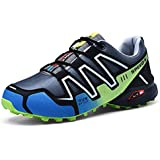 SR trade-YUNTU Men's Sports Shoes Casual Sports Shoes Men's Hiking Running Cycling Shoes Outdoor Sports Shoes Men's Breathable Comfortable Non-Slip