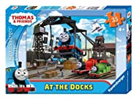 Thomas & Friends at The Docks Puzzle 35-Piece 【You&Me】 [並行輸入品]