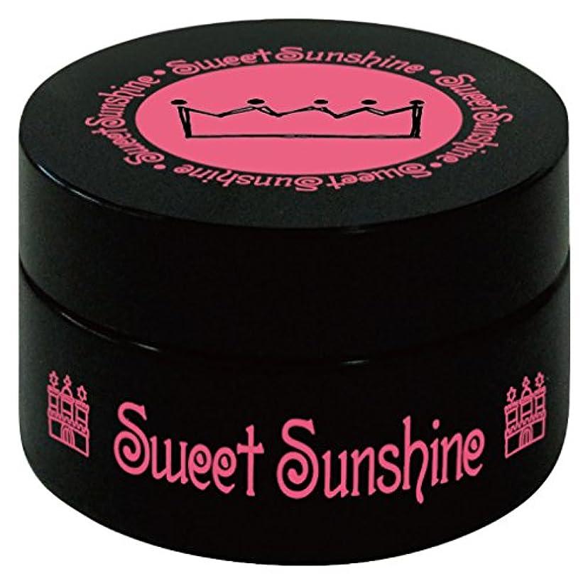 キャメル検出可能合理的Sweet Sunshine カラージェル 4g FSC-24 ノスタルジックブルー パール UV/LED対応