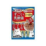 チャオ (CIAO) すごい乳酸菌クランキー かつお節味 22g×5袋 キャットフード - -