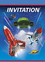 Unique Party 8 Thunderbirds Invites / ユニークなパーティー8サンダーバード招待