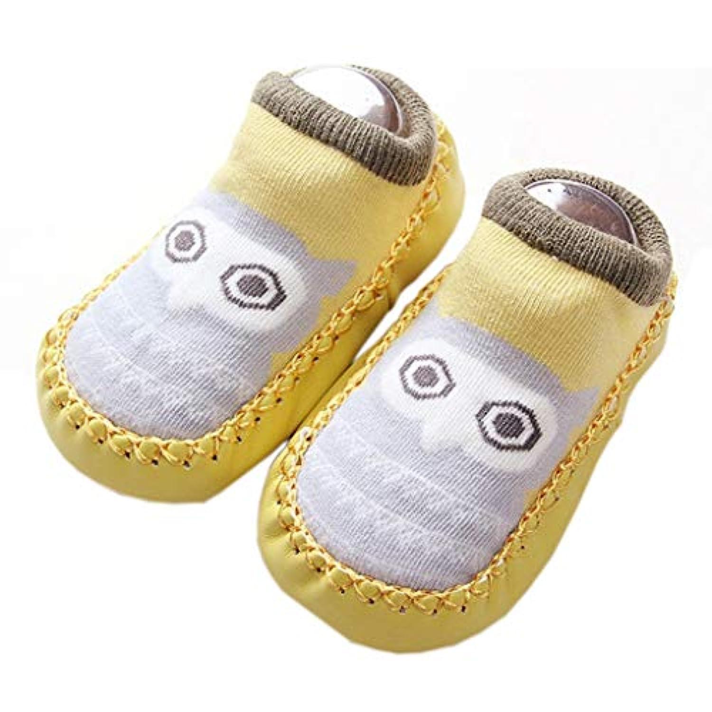 [テンカ]ベビーシューズ ベビーソックス 靴下 ルームシューズ 赤ちゃん 新生児 出産祝い 歩行サポート ソフトソール プレゼント 歩きやすい 軽量 子供用 履き脱ぎやすい 幼児靴 日常履き 歩く練習