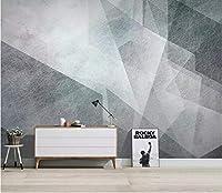 Minyose カスタムの3D壁紙シンプルな抽象的な幾何学的なテレビの背景の壁の装飾画の壁紙の壁画-200Cmx140Cm