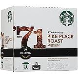 キューリグ Kカップ スターバックス パイクプレイス コーヒー 128個入(16個×8箱) Starbucks Pike Place Roast [並行輸入品]