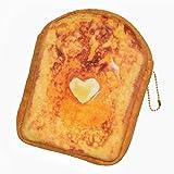まるでパンみたいな マルチポーチ2 (フレンチトースト)