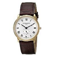 フレデリック・コンスタント メンズ腕時計 スリムライン FC-235M4S5-BROWN