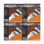 DOMINANT ドミナント チェロ弦 A線、D線、G線、C線4種セット 4/4 147