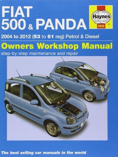 Fiat 500 & Panda: (04-12) 53 to 61 (Haynes Service and Repair Manuals)