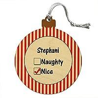 スティーブン is ニースウッドクリスマスオーナメント