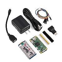 ラズベリーパイセット Mugast 2.13インチ電子ペーパーHAT(B)ミニHDMIアダプタマイクロ USB OTGケーブルマザーボード Raspberry Pi Zeroに対応