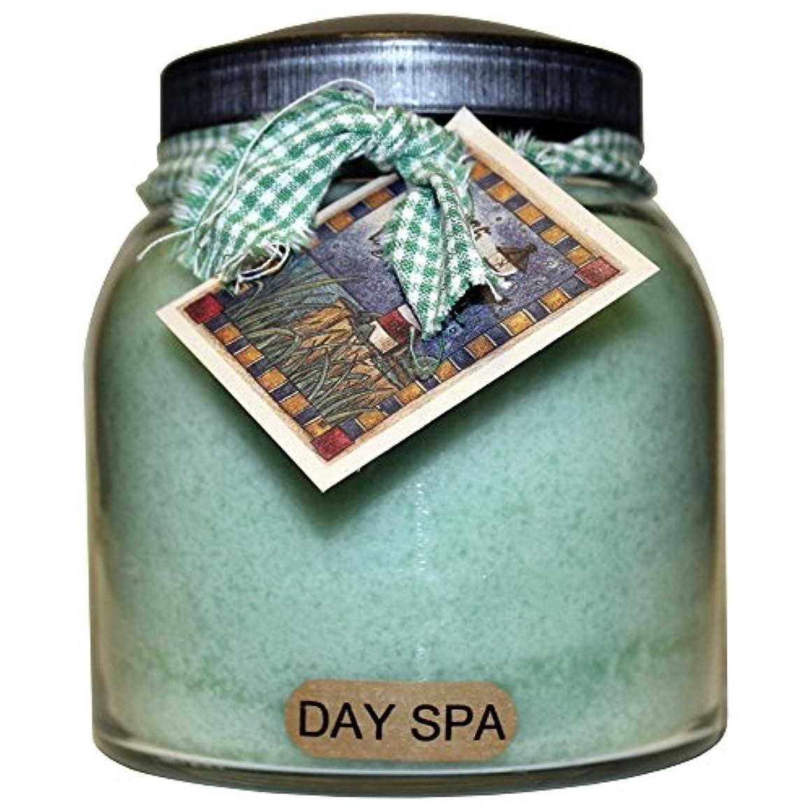 コンクリート日焼け栄光のA Cheerful Giver Day Spa ベイビージャーキャンドル 34oz JP01