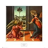 Sandro Botticelli – 受胎告知 ファインアート プリント (55.88 x 60.96 cm)