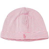 ポロ ラルフローレン ニット帽 ベビー ビーニー beanie コットン 男の子 女の子 (カラー:Pink) Polo Ralph Lauren [並行輸入品]