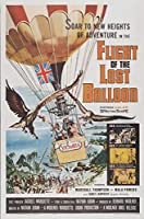 キャンバスに映画ポスタージクレープリント - 映画ポスター複製壁の装飾(失われた気球2の飛行) #XFB