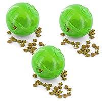 Petsafe SlimCat Green Meal Dispensing Cat Toy, (3 Pack) 141[並行輸入]