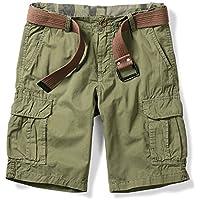 OCHENTA Men's Lightweight Multi Pocket Casual Cargo Shorts