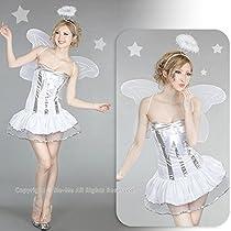 浮かぶ天使の輪♪シルバーキラリ☆エンジェル (ホワイト)