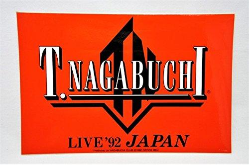 入手困難 長渕剛 ステッカー ロゴ LIVE 92 JAPA...