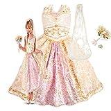 新作 ディズニープリンセス Disney Princess Tangled Rapunzel Wedding 2013 子供 キッズ 衣装 デラックス コスチューム & アクセサリーセット ウェディング ラプンツェル 140 Lサイズ 8-10歳