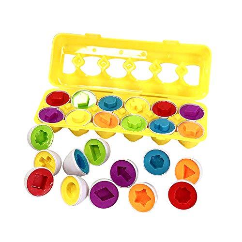 closetoYBT 知育おもちゃ ままごと 知育パズル スマートたまご 卵のお...