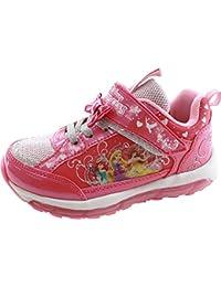c30273e42dbba7 [ディズニー] 【光る靴】 プリンセス プリンセス アリエル ラプンツェル ベル 女の子 マジック スリッポン キッズ