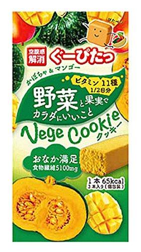 ぐーぴたっ 野菜クッキーかぼちゃ&マンゴー3本