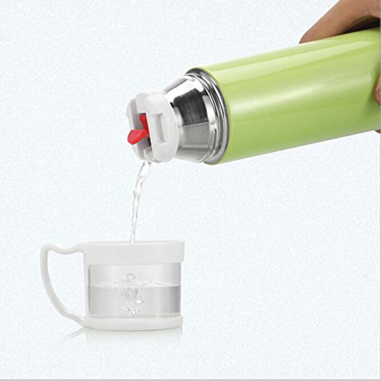 Zixmat(TM) 1個500MLサーモスカップステンレス魔法瓶マグカップ、グラス旅行サーモコーヒーカップサーモス真空ボトルの新B5
