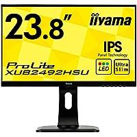 iiyama モニター ディスプレイ XUB2492HSU-B1 (23.8インチ/フルHD/IPS…