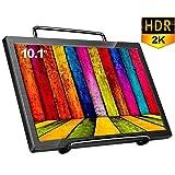 cocopar®10.1インチ2k解像度2560*1600 IPS ゲームモニタ HDMI Raspberry Pi 対応 PCモニタースピーカ内蔵 超薄9mm,330g