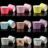 50PCS Home & Kitchen Liner Pastry Tools Party Supplies Cupcake Wrappers Baking Cup Muffin Cases Cake Paper Cups