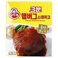 [KFM] Korean Food Hamburger Steak 140g