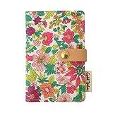 リバティプリント カードケース (エミリー(ピンク))
