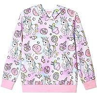 QPANCY Girls Hoodie Unicorn/Mermaid/Cat Sweatshirt Cotton Pullover for Kids