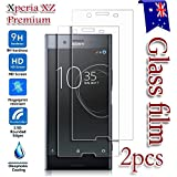 [2-Pack] Sony Xperia XZ Premium Tempered Glass LCD Screen Protector Film Guard