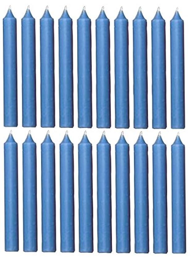 動かない面白いその間(Light Blue) - Biedermann & Sons Chime or Tree Candles 20-Count Box, Light Blue