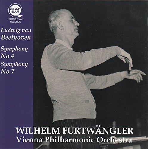 ベートーヴェン : 交響曲 第4番 | 交響曲 第7番 (Ludwig van Beethoven : Symphony No.4 | Symphony No.7 / Wilhelm Furtwangler | Vienna Philharmonic Orchestra) [CD]